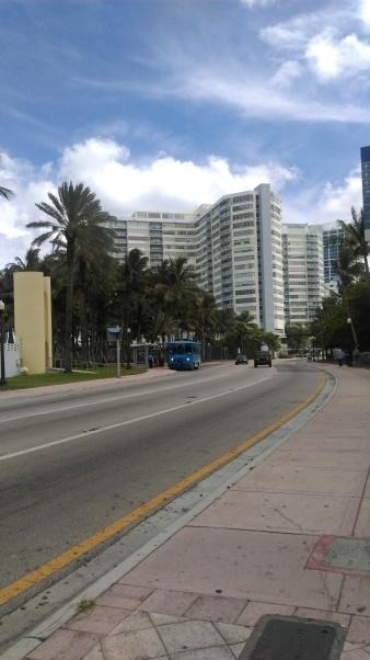 City street in Miami