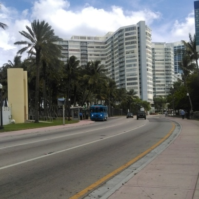 City street in Miami